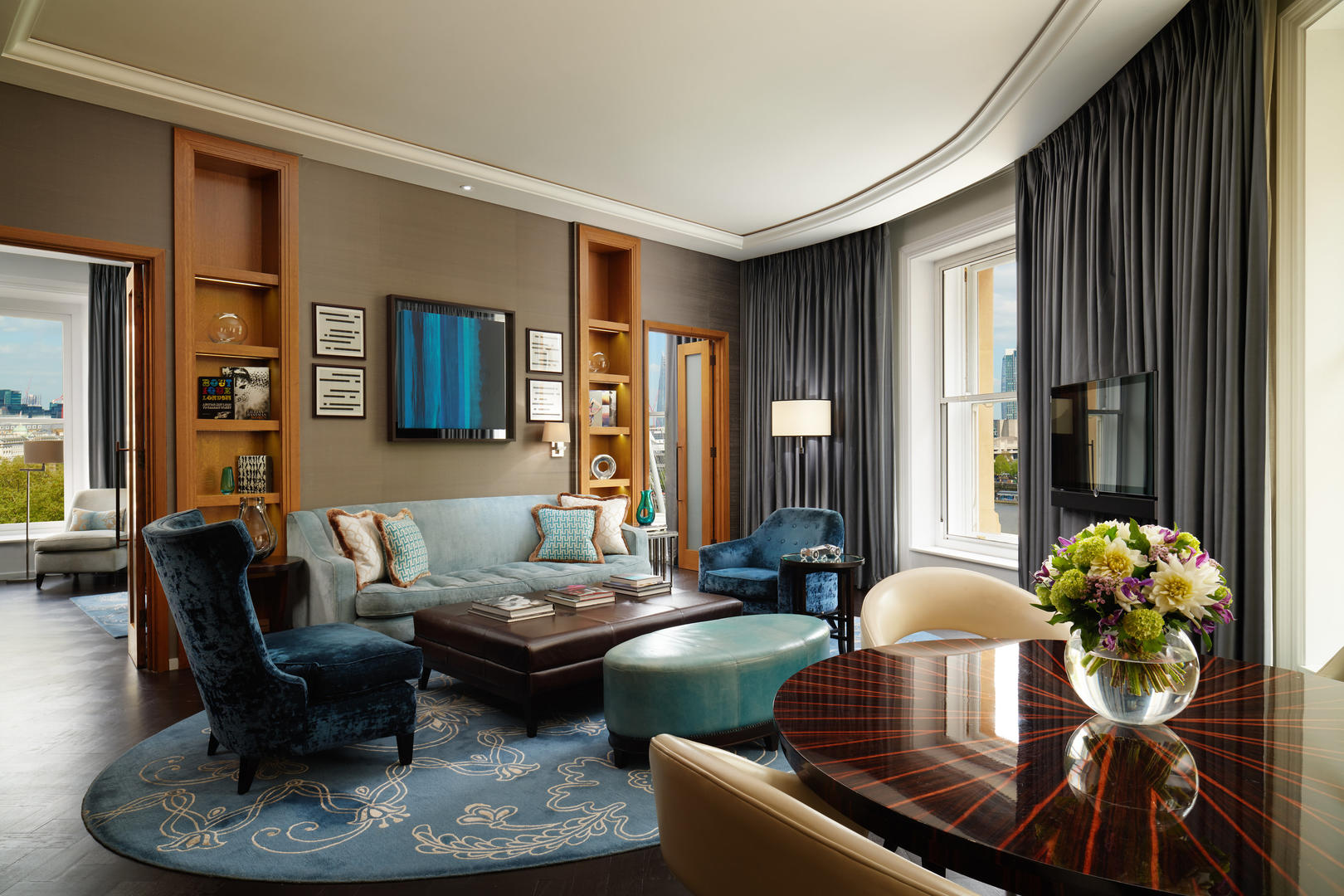 Corinthia-London-Hotel-River-Suite-Lounge