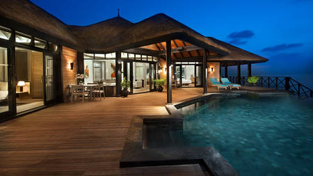 JA Manafaru_Grand Water 2BR Suite with Private Infinity Pool Deck 2