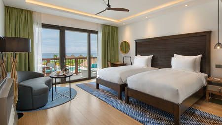 Deluxe Ocean View Room - Twin