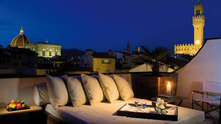 Main Image - Terrace by night